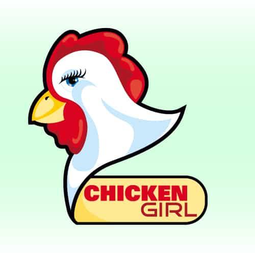 Chicken Girl Logo